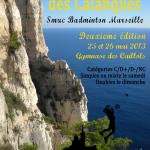 affiche tournoi des Calanques 2013