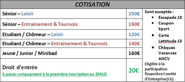 Cotise Annuelle 2018-2019